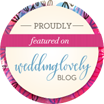Featured on WeddingLovely.com